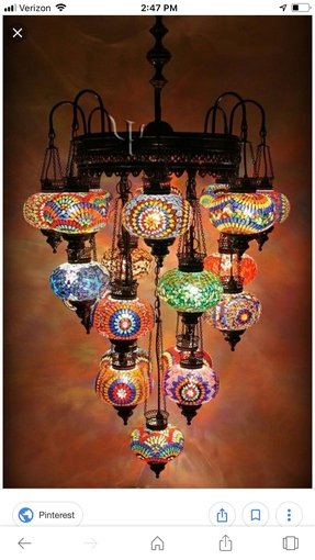 How to make turkish mosaic lamps