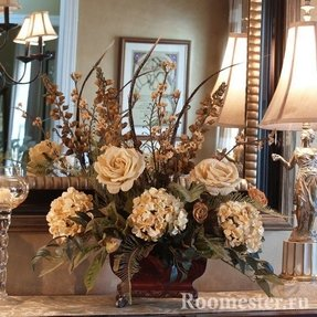 Hydrangea flower arrangements