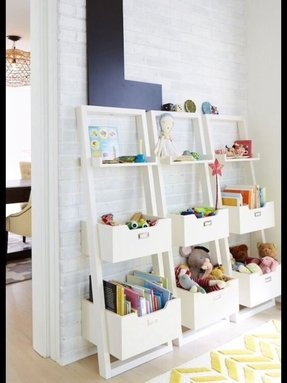 Ikea bookshelves kids