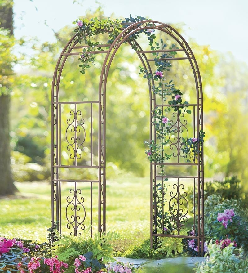 Charmant Iron Arbors And Trellises