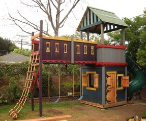 Kids wooden playsets 3