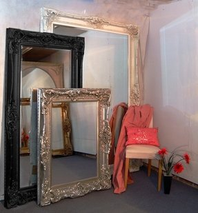 Large rectangular wall mirrors