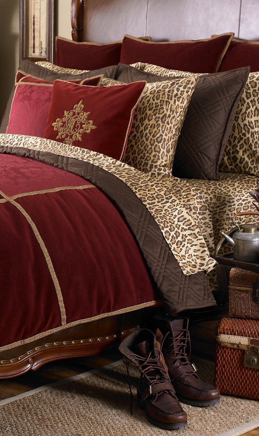 Luxury Animal Print Bedding 1