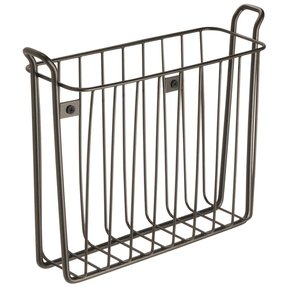 Metal magazine rack wall mount