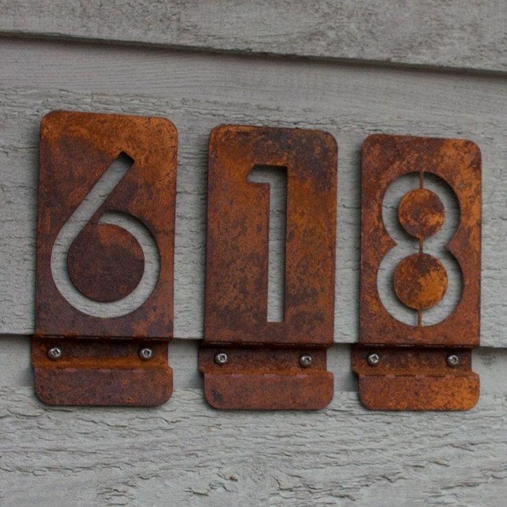 Bon Modern Door Number Signs