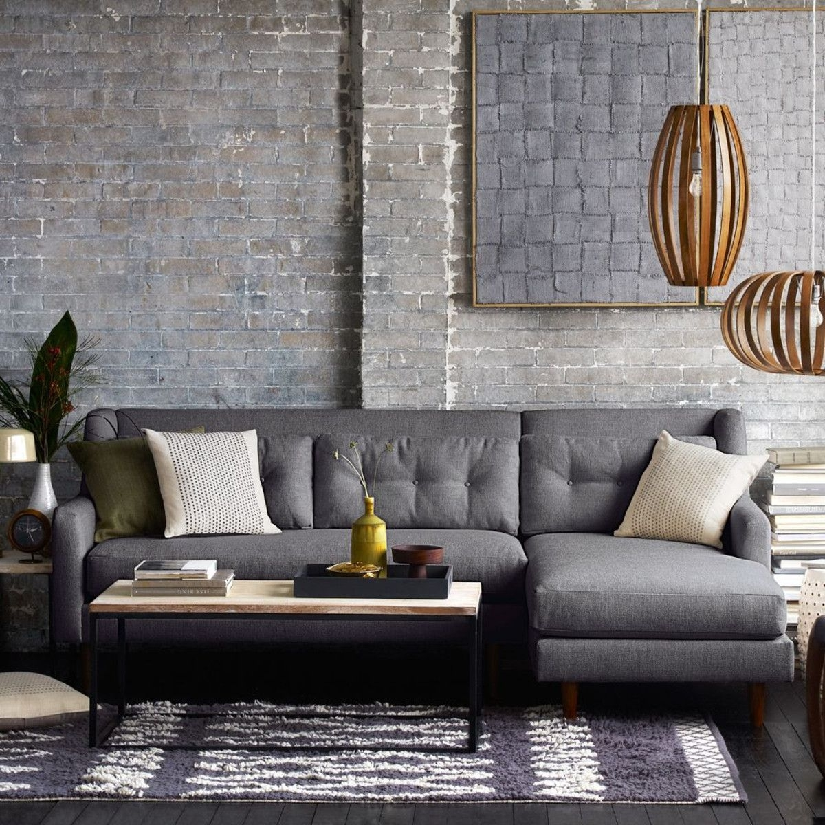Ordinaire Modern Sectional Sofas For Small Spaces