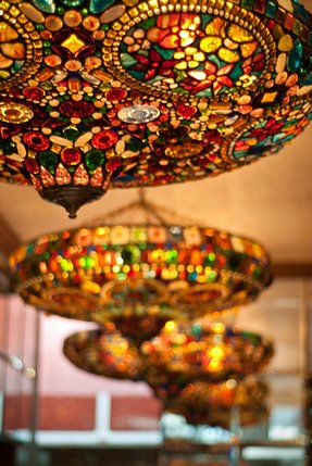 Mosaic light fixtures 3