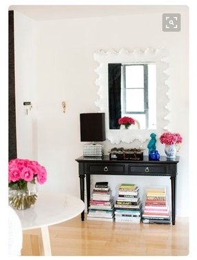 Narrow Black Console Table Foter