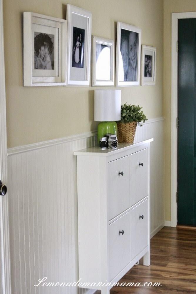 Narrow Shoe Cabinet