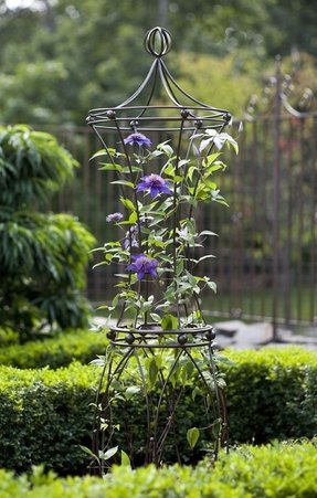 Metal Garden Arbors And Trellises Foter