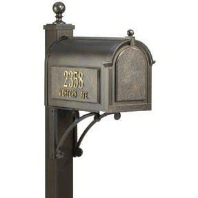 Oil Rubbed Bronze Mailbox