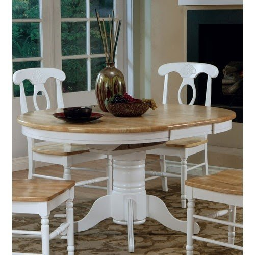 Beau Oval Dining Table With Leaf