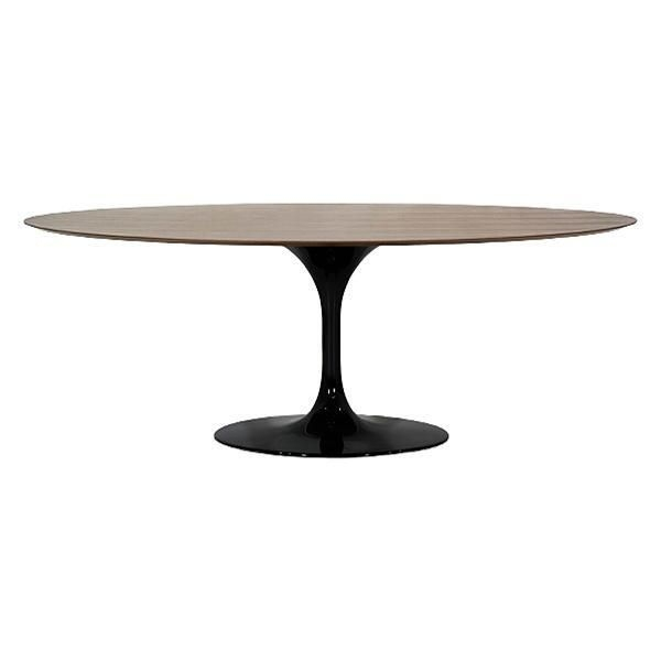 Charmant Pedestal Oval Table