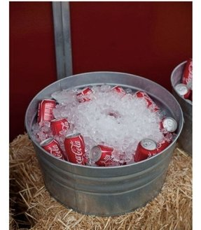 Personalized beverage tub