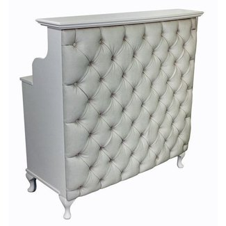 Reception desk shabby chic salon counter retail cash and wrap