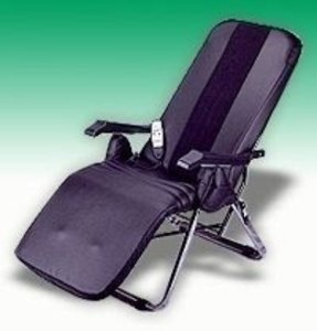 Rolling massage chair