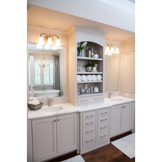 Roswell home farmhouse bathroom atlanta