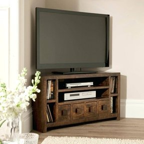 Rustic Corner Tv Unit