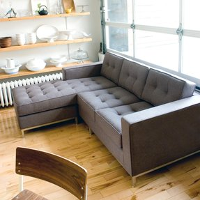 Sectional sofa for small space