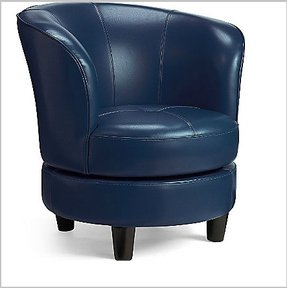 Groovy Small Leather Swivel Chairs Ideas On Foter Gmtry Best Dining Table And Chair Ideas Images Gmtryco