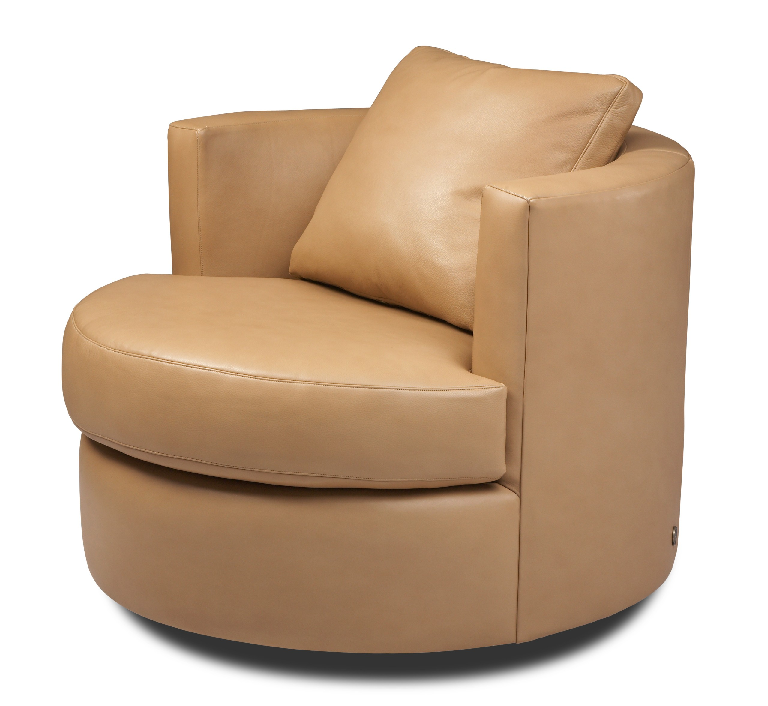 Small Round Swivel Chair