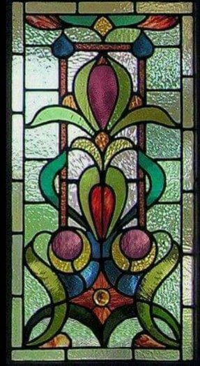 Stained glass panel 5