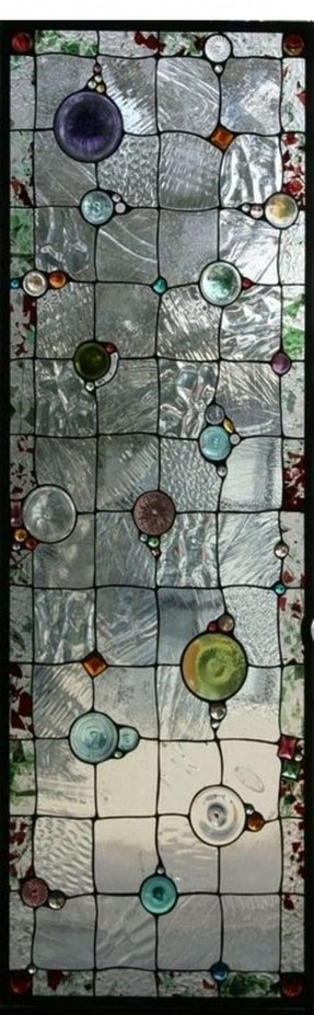 Stained glass transom patterns