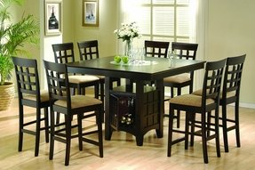 Table and stools for kitchen