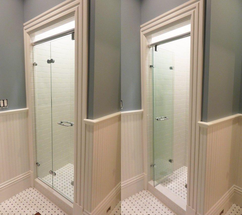 Tri Fold Glass Shower Doors