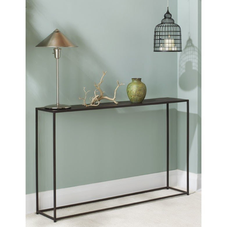 Urban Narrow Console Table Modern Side Tables And Accent Tables