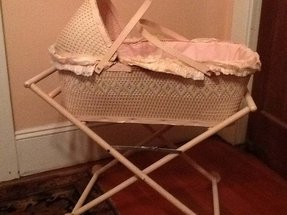 Vintage baby cots