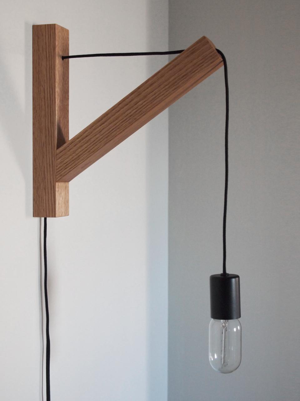 Wall Mount Pendant Light