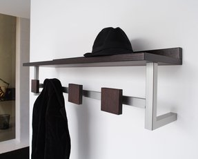 Wall mounted coat racks with shelf 1