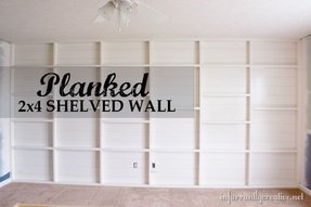 Wall shelving units for living room 9