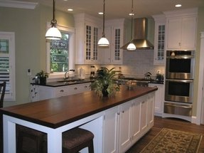 White Kitchen Island With Stainless Steel Top - Foter