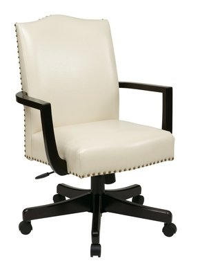 White Leather Desk Chairs - Ideas on Foter