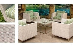 White Wicker Patio Furniture With White Wicker Patio Furniture Aluminum Wicker Patio Furniture Foter