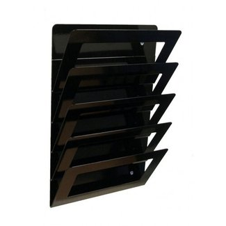 Wire magazine rack wall mount