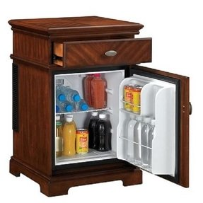 Wood wine refrigerator 7