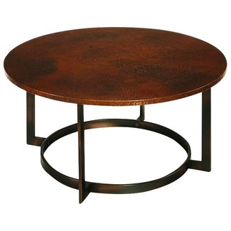 A touch of copper culver coffee table