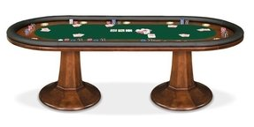 Bar height poker table 2
