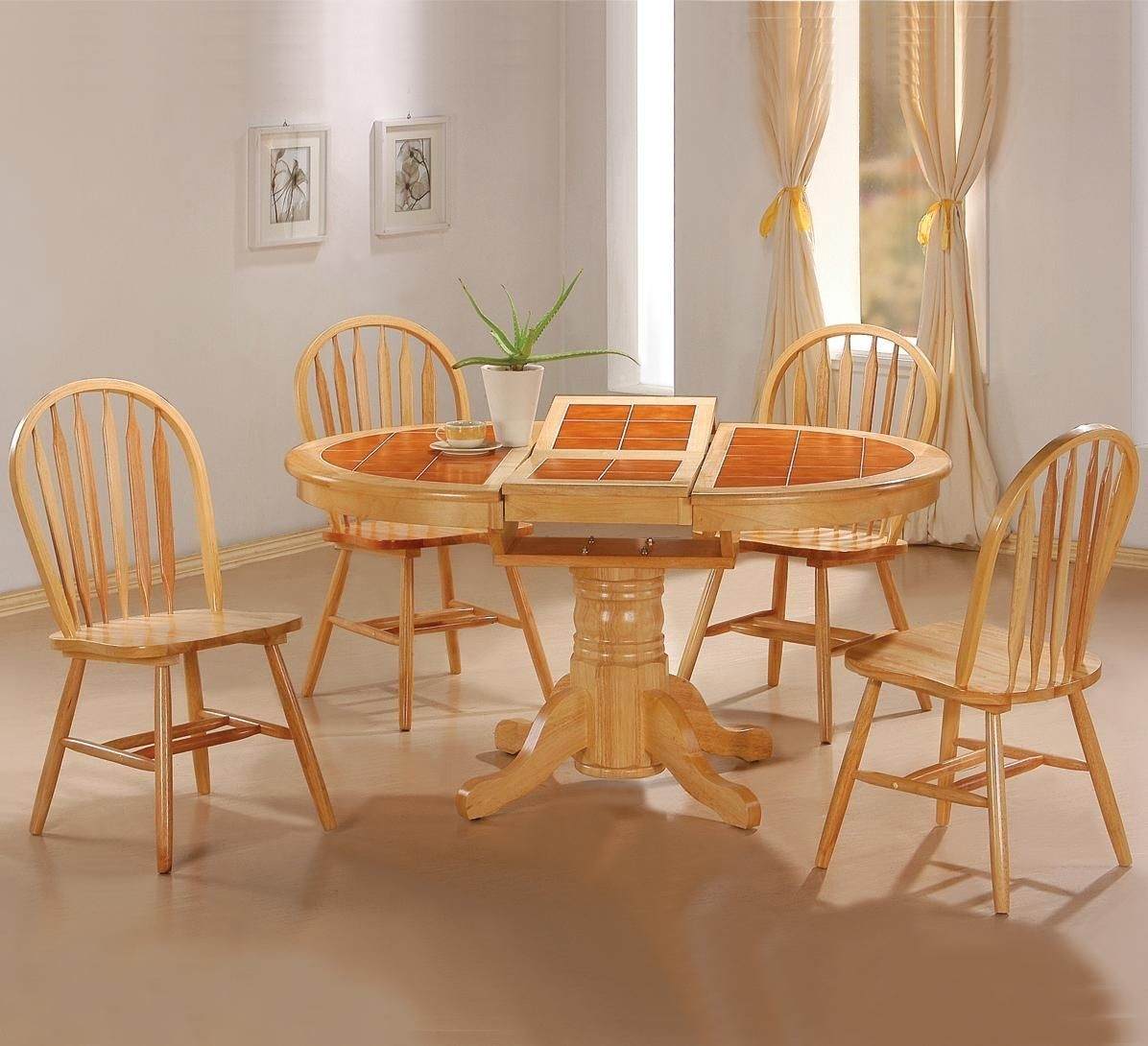 Butterfly leaf dining table set & Round Dining Table With Butterfly Leaf - Foter