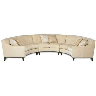 Circle sectional sofa