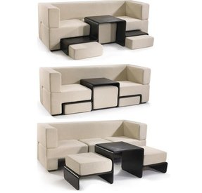 Coffee Table With Ottoman Seating Ideas On Foter