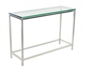 Console table with glass top 9