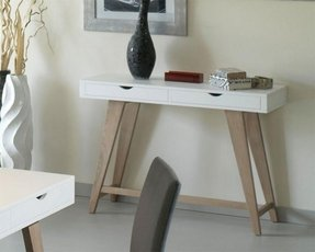 Contemporary console table with drawers 1