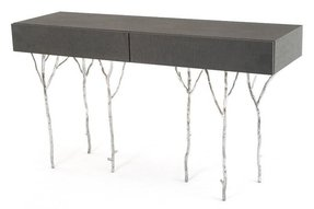 Contemporary console table with drawers 14