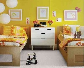 Convertible twin bed