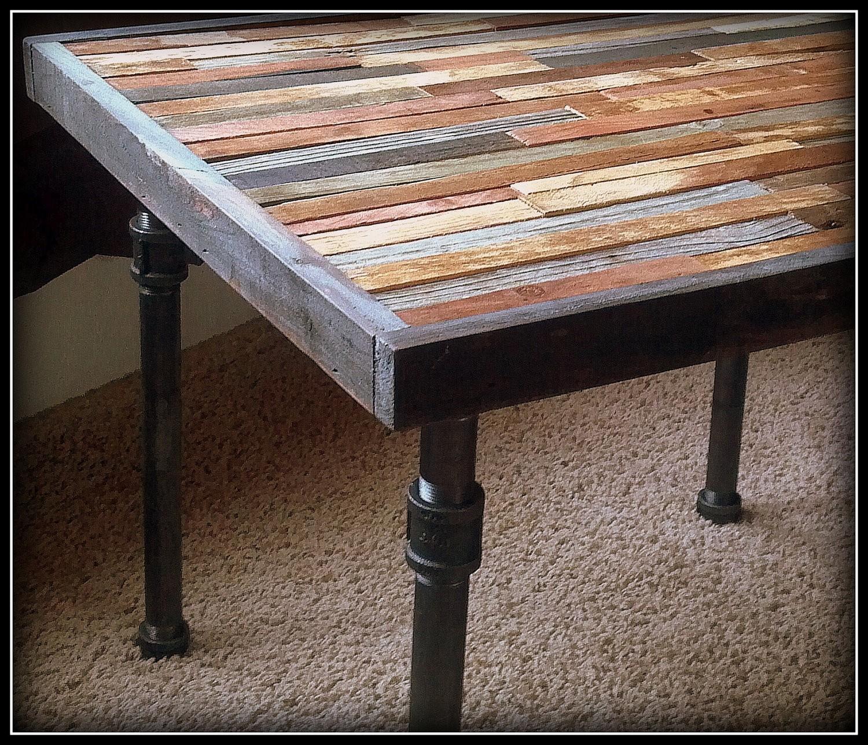 Good Dining Table Metal Legs Wood Top