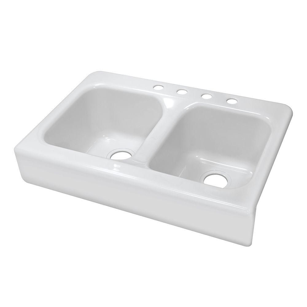Beau Drop In Farmhouse Sink